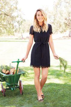 LC Lauren Conrad for Kohl's Lace Shift Dress
