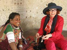 Sally Campbell, Handmade Textiles - Kutch embroiderer