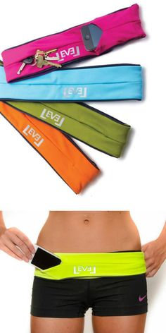 NEED THIS!!!!!!! Fashionable Workout Fanny Pack that Holds phones, cards, keys, and more! | L.O.V.E