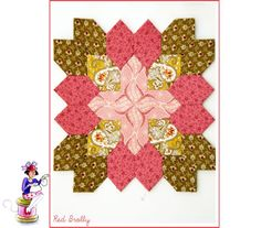 The Wise woman of stitching :: Lucy Boston quilt
