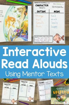 These interactive read aloud lesson plans use 75 different picture books to teach over 40 different reading comprehension skills. Each lesson has a carefully selected picture book to use as a mentor text. This resource is perfect for the 2nd, 3rd, 4th, or 5th grade classroom! #interactivereadalouds #readalouds #mentortexts Confusing Words, Interactive Read Aloud, Reading Comprehension Skills, 5th Grade Classroom, Mentor Texts, Text Pictures, Picture Books, Language Arts, Lesson Plans