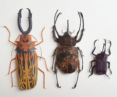 I Create Bugs, Butterflies, And Insects Using Recycled Paper, Wire And Thread | Bored Panda