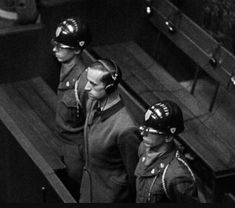 Karl Brandt hears the death sentence issued by the Military Judges at the Doctors' Trial in Nuremberg. Law Of War, Nuremberg Trials, Hbo Documentaries, The Deed, Documentary Film, World War, Wwii, The Past, Military