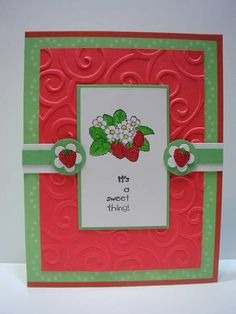 Sweet Thing by denisecarolclark - Cards and Paper Crafts at Splitcoaststampers  (Feb'13)