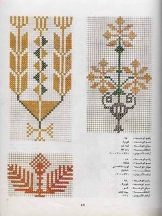 Striking photo - check out our short article for additional recommendations! Folk Embroidery, Cross Stitch Embroidery, Embroidery Patterns, Cross Stitch Designs, Cross Stitch Patterns, Russian Cross Stitch, Palestinian Embroidery, Knitting Charts, Crochet Chart
