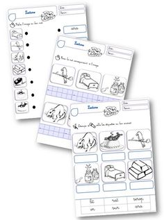 Taoki : exercices de lecture/écriture