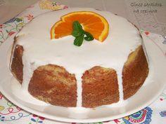 Cinco sentidos na cozinha: Bolo fofo de laranja