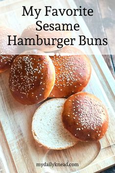 Check out my favorite way to make hamburger buns at home! Anyone can make this recipe and enjoy fresh, flavorful and not store bought hamburger buns for their next dinner! I hope you enjoy! Hamburger Bun Recipe, Hamburger Buns, Recipes With Yeast, Easy Baking Recipes, Tart Recipes, Cupcake Recipes, Quick Bread Rolls, Artisan Bread, Biscuit Recipe