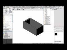 Vectorworks: Differenzierte Bauteildarstellung - YouTube