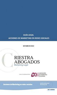 Guía práctica para que los anunciantes sepan cómo actuar legalmente en redes sociales. #ebook #free