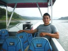 Ricky - Enjoying Lake Arenal (from post: Your best transportation options between Monteverde and La Fortuna - Costa Rica)