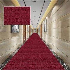YYH Red Carpet Wedding Aisle Support Non-Slip Runway Carpet Indoor Outdoor Can Be Cut, Full Shop (Color : A, Size : 1.63m)