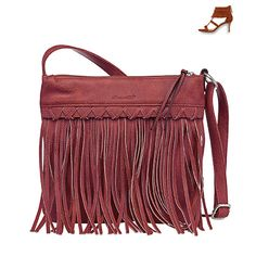 #bag #handbag #red #fringes #seventies #70s