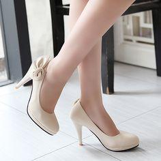 New Fashion Stiletto Flower Classic Women High Heel Sexy Pumps Shoes Vogue Lady Beige