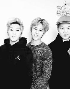 OMG THE CUTENESSSSSS my heart sank a little!! Adorable B.A.P Jongup, Daehyun, and Zelo (gif)