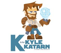 Star Wars A,B,C's (K Is For Kyle Katarn)