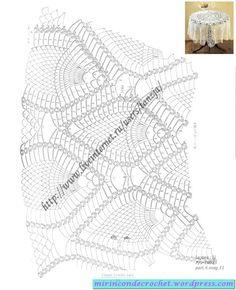 Manteles y carpetas   Mi Rincon de Crochet
