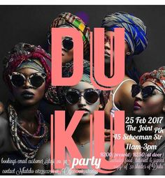 L I M P O P O  __________________________________________ All roads lead to Polokwane in 1 weeks time as the #50ShadesOfDuku tour continues... Join us for an afternoon of #Queening getting our #HeadWrapSwag on. Bring your girlfriends or send uSis Bae wakho  R200 gets you in. Includes: a Goodie bagRefreshments Head wrap tutorials Photoshoot And a Signed copy of #50ShadesOfDuku  There will be Head wraps and African inspired Accesories on sale as well so come and support black females in…