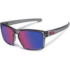 d929237bbf Oakley Sliver Sunglasses - Grey Red Iridium Polar Sunglasses Shop