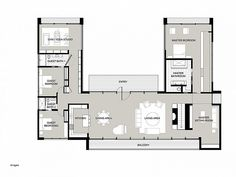 Attractive 3 Bedroom 3.5 Bath House Plans Lovely Coolest U Shaped Ranch House Plans Jk House  Plans