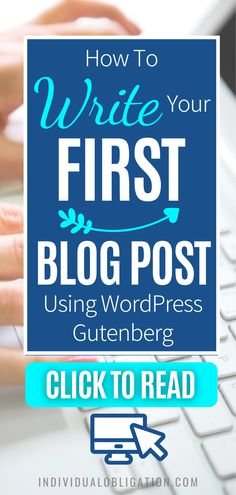 Blogging for beginners guide to write your first blog post on WordPress Gutenberg. These WordPress 101 tutorials will show you how using WordPress Gutenberg can be done efficiently. Discover the simplest way to add text, format paragraphs, add images and more with this WordPress tutorials guide. Any blogging beginner can start with this guide and know how to start using the WordPress Gutenberg editor on your blog. #wordpresstips #bloggingtips #blogging #newblogger #blogtips…