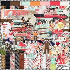 """@lady1kat This is the one I picked for your """"valentines"""" package w/sock monkeys! Storyteller February 2014 Digital Kit"""