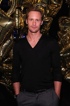 Alexander Skarsgard Photos Photos - Actor Alexander Skarsgard attends the Mulberry 40th Anniversary celebration on the Rooftop at Skylight West on September 12, 2011 in New York City. - Mulberry Celebrates Its 40th Anniversary