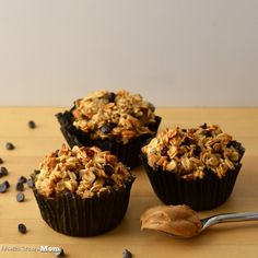Architecture of a Mom: Chocolate Peanut Butter Baked Oatmeal Muffins