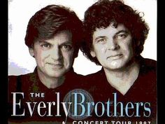 Everly Brothers sing The Hollies~ So Lonely