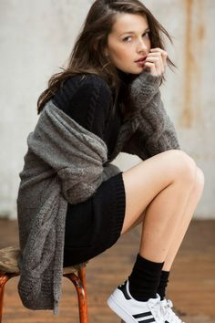cable knits | LA COOL & CHIC