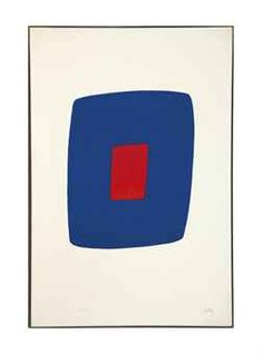Ellsworth Kelly (b. 1923) | Dark Blue with Red (A. 10) | Interiors Auction | 20th Century, Prints & Multiples | Christie's