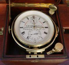 Chronometre de marine D. Mc GREGOR & Cº Ltd