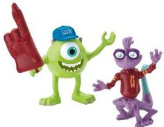 Amazon.com: Fisher-Price Imaginext Monsters University Mike and Randy Toy Figure: Toys & Games
