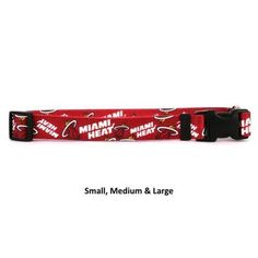 Miami Heat Nylon Collar#petlover#dogaccessories#dogdiy
