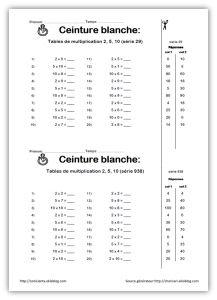 Cm2 evaluation diagnostique calculs evaluations pinterest - Evaluation tables de multiplication ...