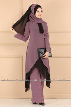 Modest Fashion Hijab, Modesty Fashion, Abaya Fashion, Moslem Fashion, Muslim Women Fashion, Long Sleeve Evening Dresses, Techniques Couture, Stylish Dresses For Girls, Kurti Designs Party Wear