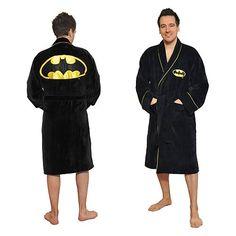 Batman Cotton Bathrobe