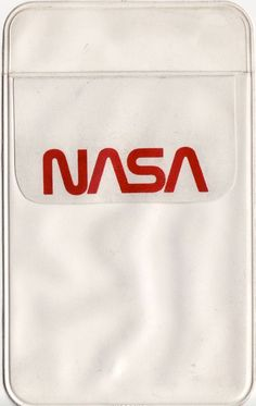 Of course NASA provided pocket protectors...of course.