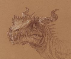 By Justin Gerard  a friendly, inquisitive dragon, may haps a bit clumsy too