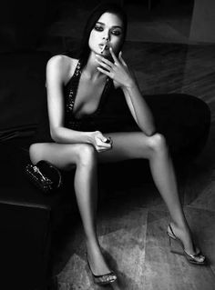 "Daniela Braga is a #smoking #hot #beauty with sweet #legs - ""Black Power"" for Harper's Bazaar Brazil August 2013. Photo by Yossi Michaeli"