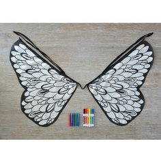 For my nieces  Design Your Own Bird Wings