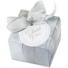 Gartner Studios Clear Favor Box Kit, 50pk
