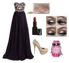 """Prom 2k16"" by jemima987 on Polyvore featuring Qupid, Chanel, NARS Cosmetics and Victoria's Secret"