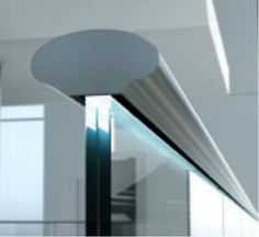 Crosilux Oval handrail with glass Check our catalogue for more details on  www.crosoplan.it