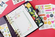 What can we say. We love #planners . New @carpediemplanners and accessories available at #blitsy. Link in bio. #happycrafting #happyplanning