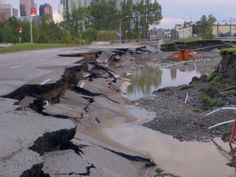 This is Macleod Trail south of downtown, around the Talisman Centre. Macleod Tr doesn't look good around the Talisman Centre via Calgary, Centre, Trail, Southern, Backyard, Earth, City, Water, Outdoor
