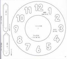 Zaman Kavramı Eğitici Oyuncak Yapımı ( Kalıplı) - Okul Öncesi Etkinlik Faliyetleri - Madamteacher.com