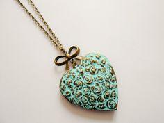Collier porte photo coeur - collier coeur - collier pendentif porte photo…