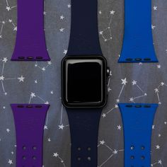 Reach for the stars with a constellation-inspired watch band! ⭐⭐ Shop via Link in Bio Lilac Grey, Orange And Purple, Samsung Gear S2 Classic, Samsung Gear S3 Frontier, Huawei Watch, Apple Watch Series 1, Leather Watch Bands, Watch Brands, Cool Watches