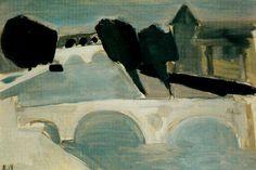 Nicolas de Staël (1914–1955) La Seine à Paris (1954)